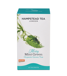 Produktbild Hampstead Misty Mint Green tea 25p