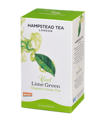Produktbild Te Hampstead Lime Green tea 25p