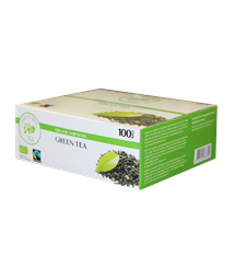 Produktbild GBT Green Tea Fairtrade Krav 100st